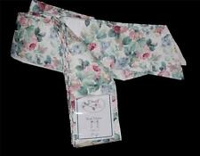 "Croscill Vtg CHARTWELL Cottage Chic Floral Roses Scarf Valance  43""W x 145""L NIP"