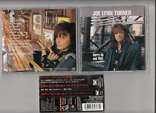 Joe Lynn Turner - Hurry Up & Wait CD 1998 JAPAN PCCY-01248 OBI RARE ROCK