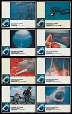 BLUE WATER WHITE DEATH 1971 lobby set SCUBA DIVING/SHARKS 11x14 movie posters