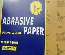 10 Stück Schleifpapier Bögen 230x280 in P100 Wasserfest Wasserschleifpapier