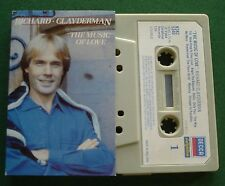 Richard Clayderman The Music of Love inc The Way We Were + Cassette Tape TESTED