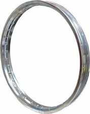 "Chrome Steel Wheel Rim 1.60 x 18"" for 36 Spokes"