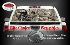 Bow Reaper Obliteration Camo Rear Window Graphic Decal Sticker Truck Van Car