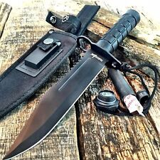 "12.5"" RAMBO Bayonet Military Survival Kit Tactical Combat Hunting Knife BOWIE"