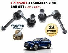 FOR INFINITI FX FX37 FX50  2009--  LEFT + RIGHT  FRONT STABILISER LINK ROD BAR
