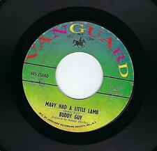 "Buddy Guy ""Mary had a little lamb - Sweet little"" Vanguard Records Mod Blues 45"