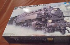 Trumpeter Models 1/35 WWII German BR86 Armored Steam Locomotive