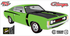 New! Collectable Chrysler VH Valiant Charger R/T - GREEN