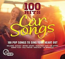 100 HITS-CAR SONGS NEW DIGIPACK EDITION (2016) (BACKSTREET BOYS,...) 5 CD NEU