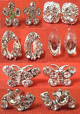 Combo Of 6 Beautiful Designer Crystral, Stone Fashion New Quality Earrings/ Top