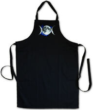 TRIPLE GODDESS BBQ COOKING KITCHEN APRON - Neopaganism Celtic Symbol Paganism