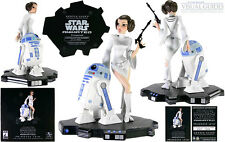 Gentle Giant Star Wars Animated Leia with R2D2 maquette