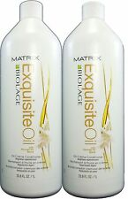 Biolage Exquisite Oil Creme Conditioner Liter 33.8oz Pack of 2