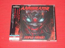 2017  ANNIHILATOR Triple Threat Live   JAPAN 2 CD SET