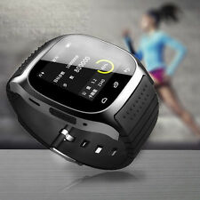 Sports Bluetooth Smart Wrist Watch Phone Mate For IOS Android iPhone Samsung HTC