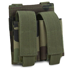 Bulldog MOLLE Military Army Mil-Spec Double 40mm UGL Grenade Pouch CE Woodland