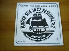 CIRCUS SQUARE JAZZ BAND North sea jazz festival 82 DUTCH LP CAT RECORDS
