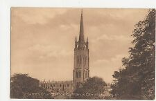 Louth, St. James Church from St. Marys Cemetery Postcard, A828