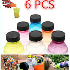 6PCS Snappy Caps Snap Bottle Top Can Covers Fizz Coke Drink Soda Lid Cap Reuse