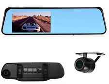 HD 10.9cm Lentille Double Enregistreur Vidéo Caméra Embarquée Rétroviseur