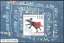 Alemania 1999 mouse/children's welfare/animals/animation 1v m/s (s2520)