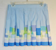 Tail Blue Pleated Tennis Skirt Size 10