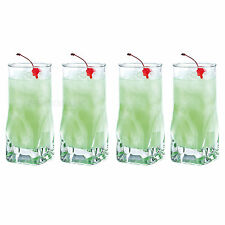 Set of 4 47cl Hi-Ball Tumblers Bar Drinks Party Tall Drinking Glasses Cocktail