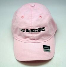 ING Bay to Breakers 12K Run Jog Women's Golf Reebok Pink Hat Cap Adjustable G R9