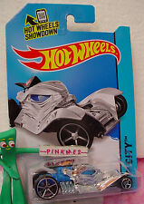 Case L/M 2014 i Hot Wheels TOMB UP #78 ✿ Chrome/Blue mummy✿ HW City✿ Fright Cars