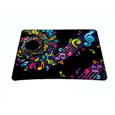 Music Note Anti-Slip Laptop PC Mice Pad Mat Mousepad For Optical Laser Mouse