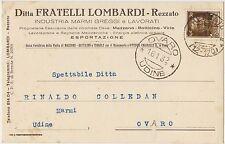 REZZATO - INDUSTRIA MARMI FRATELLI LOMBARDI (BRESCIA) 1932