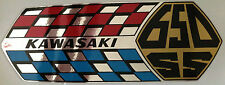 KAWASAKI W1SS 650 W2SS 650 W650 SIDE PANEL DECALS