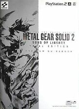 METAL GEAR SOLID 2 ZONE OF THE ENDERS JAPAN PREMIUM GUIDE BOOK YOJI SHINKAWA