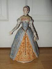 """Exquisite Sitzendorf Figure """"Catherine De Medici"""" 1519-1589 ~ 1st Quality ~ Exc"""