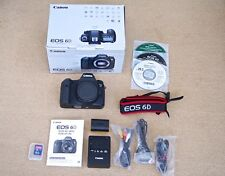 Canon EOS 6D Body Only DSLR 20.2MP Digital Camera Full Frame GPS Wifi WG Version