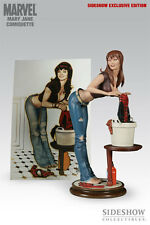 Sideshow Collectibles Marvel MARY JANE COMIQUETTE EXCLUSIVE Statue Adam Hughes