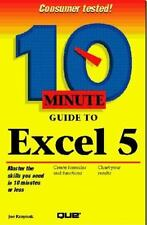 10 Minute Guide to Excel 5 (10 minute guides) Kraynak, Joe Paperback