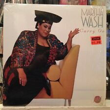 """NM 12""""~MARTHA WASH~[The WEATHER GIRLS/TWO TONS OF FUN]~Carry On~{1992]~"""