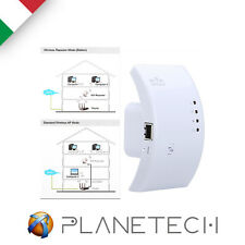 AMPLIFICATORE WIFI REPEATER 300 Mbps RIPETITORE WIFI RANGE EXTENDER LAN