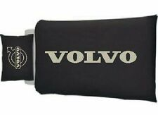 Volvo Words Lorry Truck Black single Quilt cover & Pillow case white design