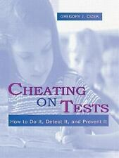 Cheating on Tests: How To Do It, Detect It, and Prevent It-ExLibrary