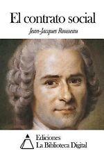 El Contrato Social by Jean-Jacques Rousseau (2014, Paperback)