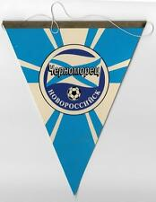 CHERNOMOREZ NOVOROSSYISK RUSSIA FOOTBALL CLUB OFFICIAL SMALL PENNANT OLD