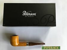 NEW Peterson Pipe Silver Band Dublin & London X105 Cumberland Orange Fishtail