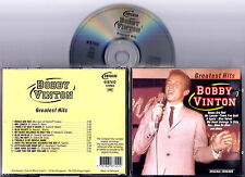 BOBBY VINTON - Greatest Hits CD Very Rare Original Import