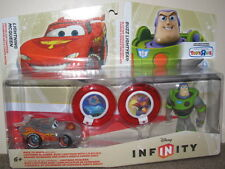 "DISNEY INFINITY TWIN PACK ""CRYSTAL LIGHTNING MCQUEEN & CRYSTAL BUZZ LIGHTYEAR"