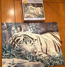BLUE EYES - BITS AND PIECES 300 LARGE PIECE JIGSAW Puzzle White Tiger