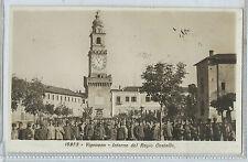 CARTOLINA 1928 VIGEVANO INTERNO DEL REGIO CASTELLO 273/A