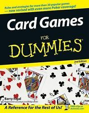 Card Games For Dummies, Rigal, Barry, Good Book