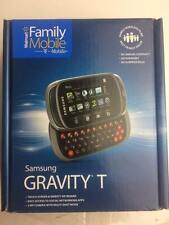 Samsung Gravity T SGH-T669 Unlocked Slider Qwerty Keyboard Cell Phone 3G - NEW